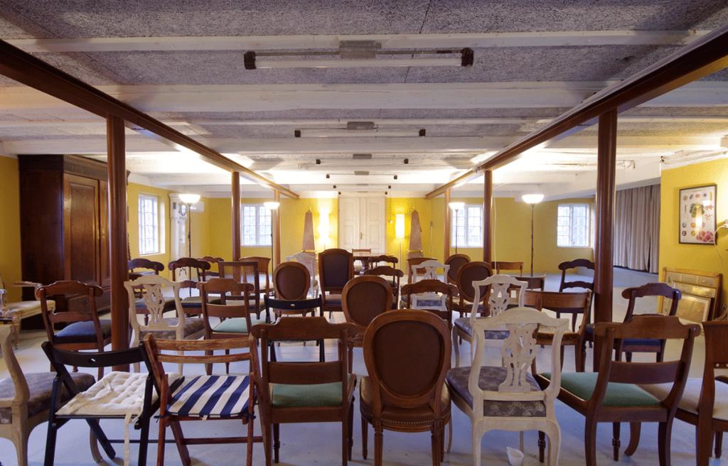 På Vindbyholtgård bliver der løbende afholdt forskellige kulturelle arrangementer.