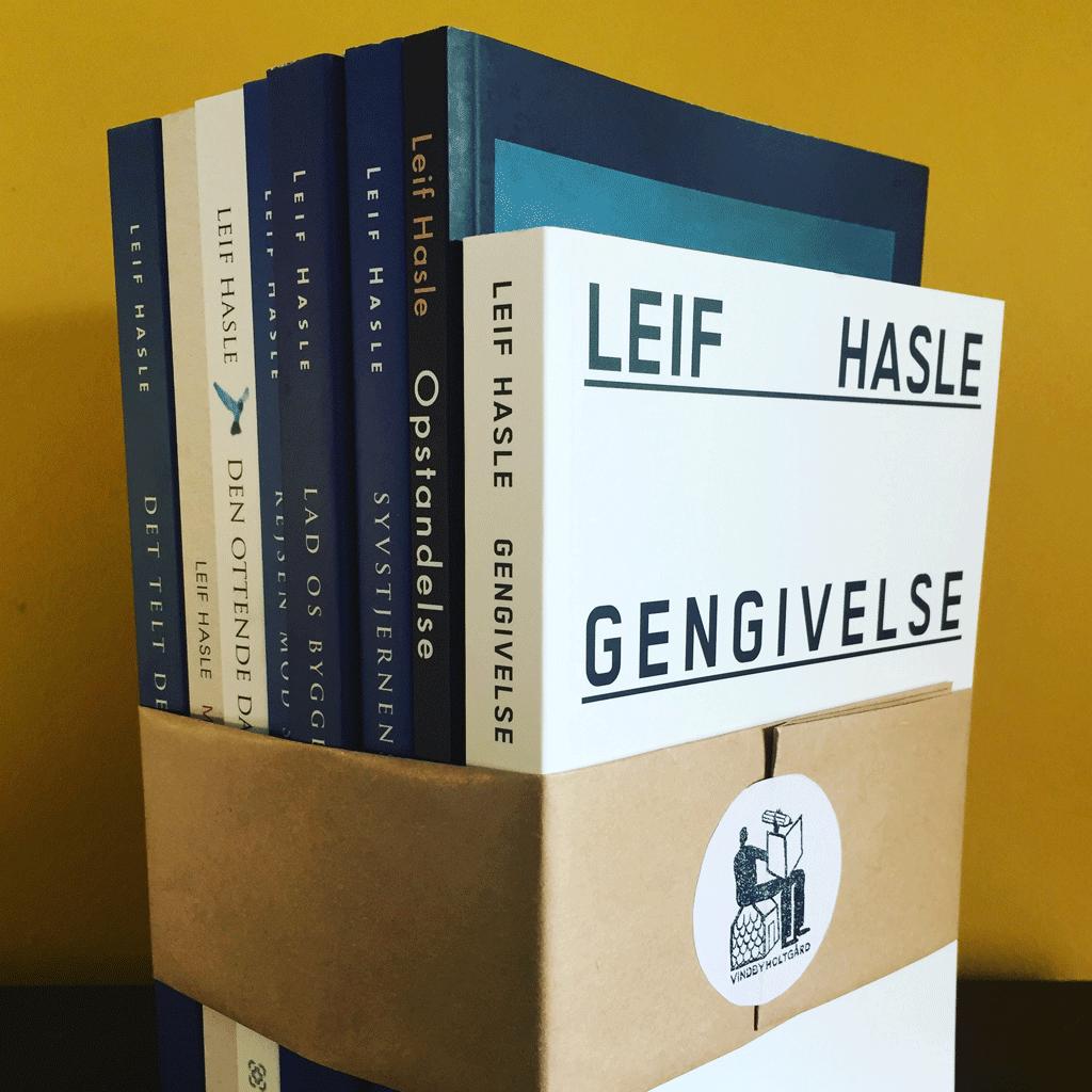 Leif Hasles 8 romaner udgivet mellem 2000 og 2013.