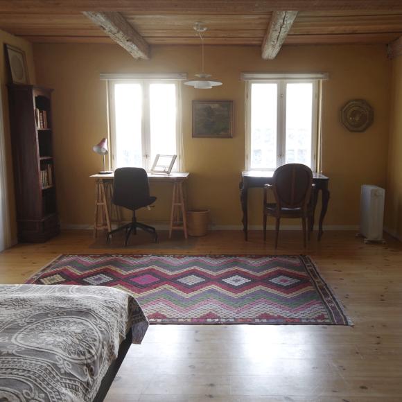 Thomasine Gyllembourgs værelse på Vindbyholtgårds refugium.